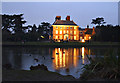 TQ3398 : Forty Hall at Dusk by Christine Matthews