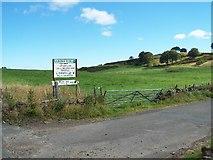 NS3564 : Road to Barnbrock Farm by william craig