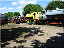 SK8813 : Rutland Railway Museum by Kate Jewell