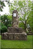 SP2824 : William Smith monument at Churchill, nr Chipping Norton by Ron Strutt