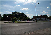 TQ4161 : Milking Lane Farm & Kings Arms, Leaves Green Road BR2 by Philip Talmage
