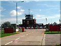 TQ4161 : Biggin Hill Airport - passenger terminal by Philip Talmage