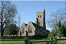 TQ8926 : Parish Church, Wittersham, Kent by Ronald G Nash