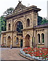 SD6728 : Park Gates, Corporation Park, Blackburn by Mike and Kirsty Grundy