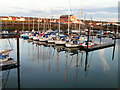 NY0236 : Maryport Marina by Nigel Monckton
