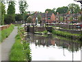 SJ2207 : Montgomery Canal, restored lock in Welshpool by John Haynes