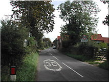 SK7350 : South West end of Fiskerton Village by Tom Courtney