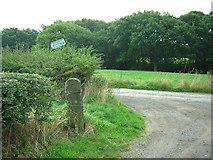 SD5910 : Hollins Head - quite close to Aberdeen by David Hignett