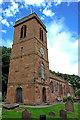 SJ3174 : St. Nicholas' church, Burton by Andy Stephenson
