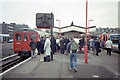 TQ3677 : New Cross Gate Station 1991 by David Wright