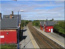 SK4285 : Woodhouse Station by David Morris