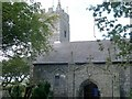 SW9558 : St Dennis Parish Church by Tony Atkin