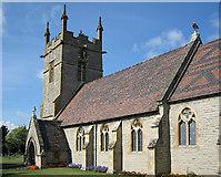 SP0546 : Offenham Church by Dave Bushell