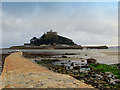 SW5130 : St Michael's Mount viewed from the causeway at low tide by Eryka Hurst