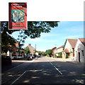 TQ4464 : Woodman PH & Village Hall Farnborough High St BR6 by Philip Talmage