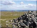 SN7886 : Pumlumon Fawr summit cairn by Rudi Winter