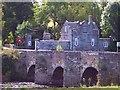 SN2143 : Llechryd Bridge by Cered