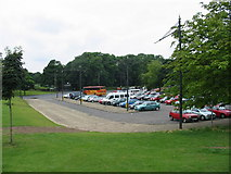 SE3237 : Car Park for Roundhay Park by Clive Perrin
