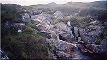 NN4767 : Cascade on Allt Tom a Chogaidh by Pip Rolls