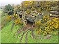 SJ5276 : Caves near Overton, Frodsham by David Crocker