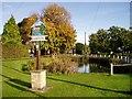 TL4055 : Barton village pond by David Gruar