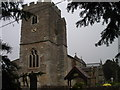 SU4894 : St Peter's church Drayton by Dennis Jackson