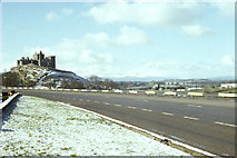 S0742 : Rock of Cashel, with Galtee Mountains in distance by Dr Charles Nelson