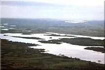 H0158 : Western portion of Lower Lough Erne looking west to Atlantic Ocean from Lough Navar Forest by Dr Charles Nelson