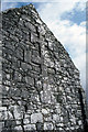 """R2791 : Kilnaboy Church - the gable end with the mysterious symbol of the """"cross of Lorraine"""". by Dr Charles Nelson"""