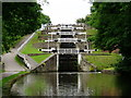 SE1039 : Bingley 5-rise locks by Charles Rawding