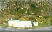 SN9200 : Hillside wreaths by the A4061 by Nigel Davies