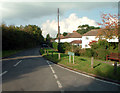 TQ4359 : Single Street, Berry's Green TN16 by Philip Talmage