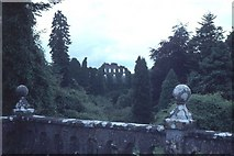 N4147 : The Jealous Wall from the terrace of Belvedere House. by Dr Charles Nelson