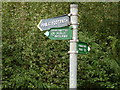 TL0115 : Junction of Icknield Way and road south out of Studham by Robin Hall
