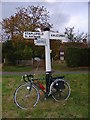 TQ2828 : Finger Post at Junction of Brantridge Lane and Rose Cottage Lane, Staplefield, West Sussex by Pete Chapman