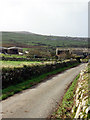 SW4034 : Carne Farm by Sheila Russell
