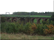 SE3617 : Nine Arches bridge. by Steve Partridge