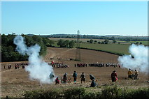 SU5929 : Re-enactment of the Battle of Cheriton by Martyn Pattison