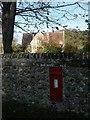 TG1206 : Old school, postbox, Great Melton by Katy Walters