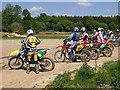 TQ2030 : Motocross track near to Horsham, West Sussex by Chris Plunkett