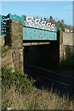 NY0130 : Seaton Railway Bridge by Phil Gravell