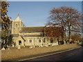 TL2094 : St Mary's Church, Farcet by Julian Dowse