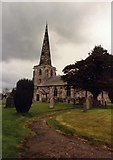 SK2329 : Marston on Dove Church by mike smith