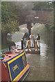 SJ5782 : Steam narrow boat PRESIDENT, George Gleaves' Bridge by David Long