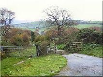 SJ0659 : Cattle Grid by Rabbit Warren Hill by Roger May