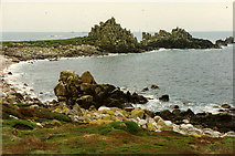 SV8508 : Irishman's Carn, North West Par of Annet, Isles of Scilly by Rowan Legg