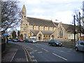 TF2322 : St John the Baptist parish church and primary school, Spalding, Lincs by Rodney Burton