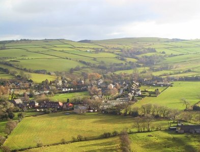 SJ9879 : Looking Down on Kettleshulme by Roger May