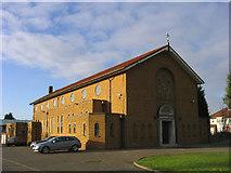 TQ4990 : Corpus Christi Church, Collier Row by John Winfield