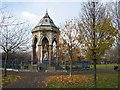 TQ3683 : Burdett Coutts Fountain, Victoria Park, London E9 by John Davies